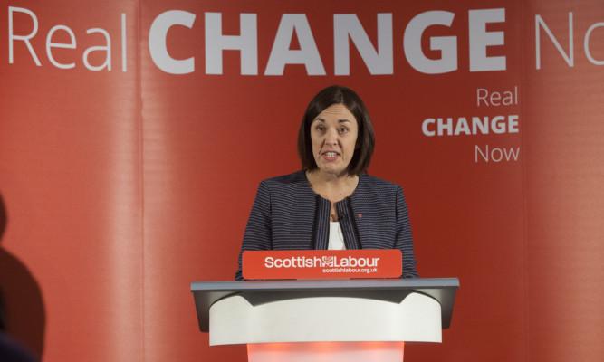 Scottish Labour leader Kezia Dugdale presents her plans.