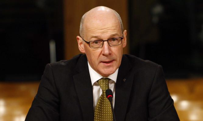 Finance Secretary John Swinney.