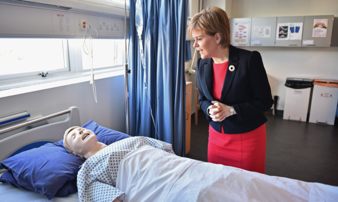 As tough a grilling as Alex Salmond reckons Nicola Sturgeon gets from her opponents