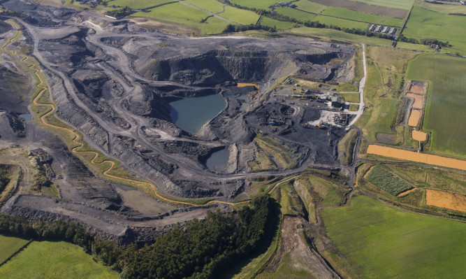 Up to 15 jobs will go with the ending of opencast mining at Muir Dean.