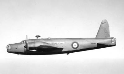 A Vickers Wellington bomber.