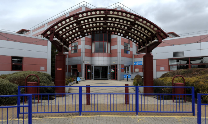 Queen Margaret Hospital in Dunfermline.