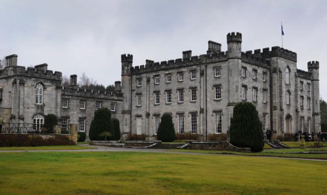 Tulliallan Castle.