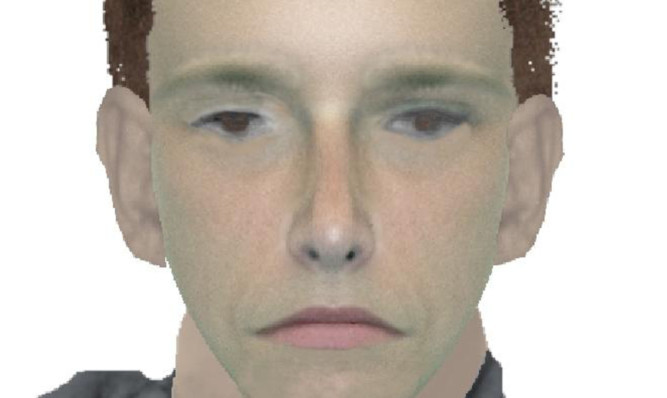 A police e-fit of one of the suspects.