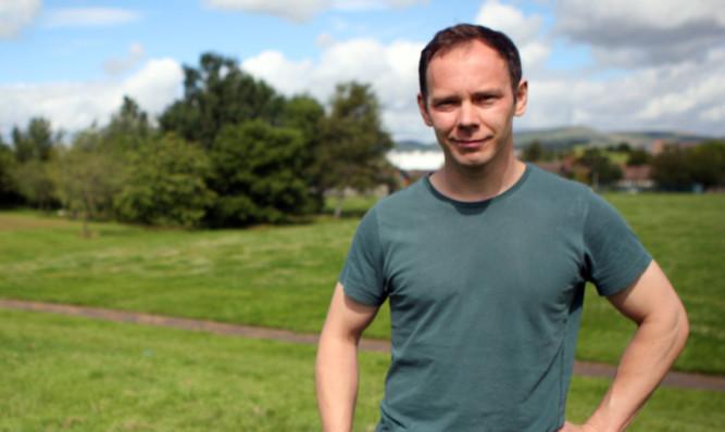 Graham Low at the site off Gillburn Road.