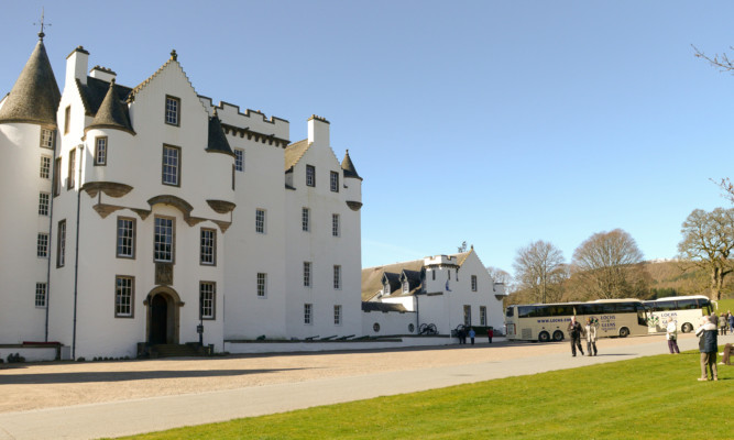 Beautiful Blair Castle is one of the destinations to be promoted.
