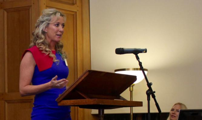 Chanelle McCoy recalled her career journey.