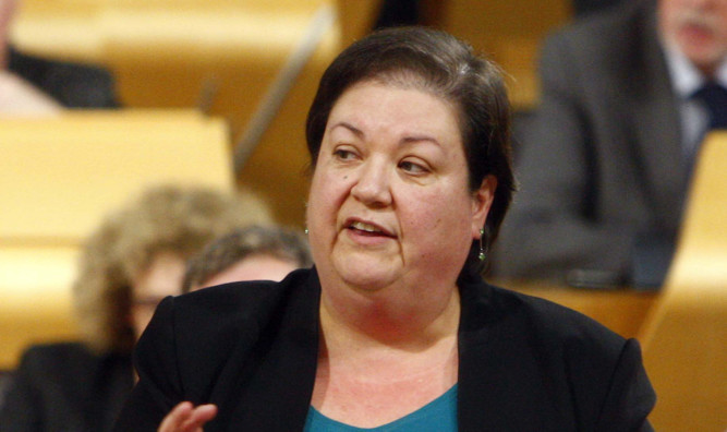 Labour finance spokeswoman Jackie Baillie.
