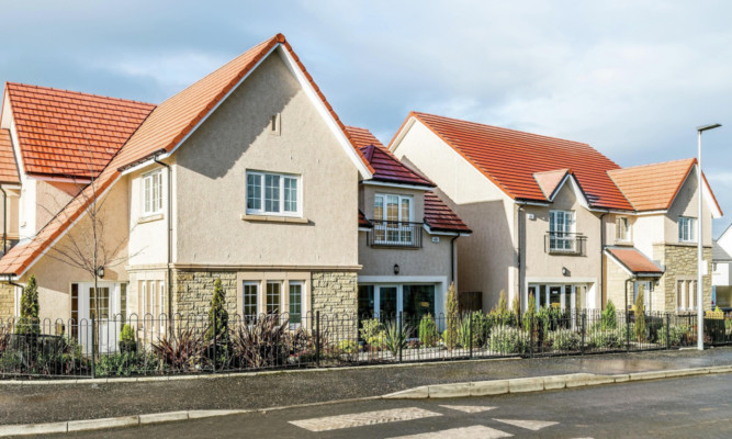 Calas Dalmeny Park development at South Queensferry. From last July to last month Cala maintained its growth, and remains on course to deliver another record year of revenue and profits.