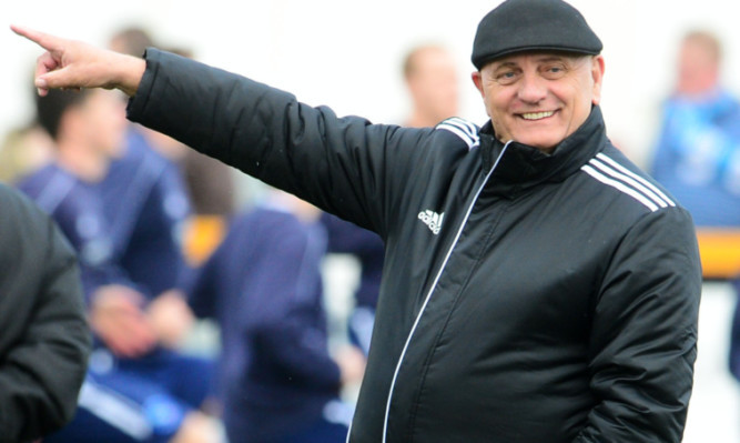 Which way to Berwick? Dick Campbell is back in football with Arbroath.