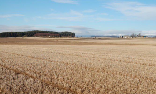 The five arable properties are all within a few miles of Arbroath.