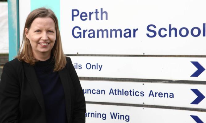 Perth Grammar head teacher Fiona Robertson said she will meet with parents.