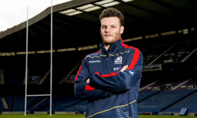 Duncan Taylor: set to form an imposing Scotland midfield duo with Alex Dunbar.