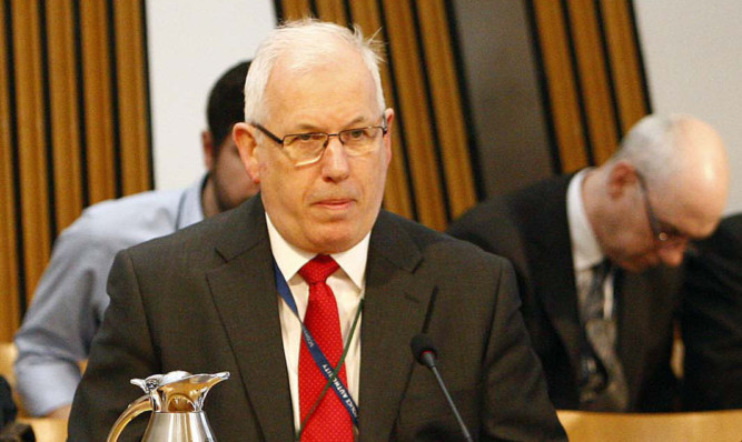 Chair of the Scottish Police Authority  Andrew Flanagan.
