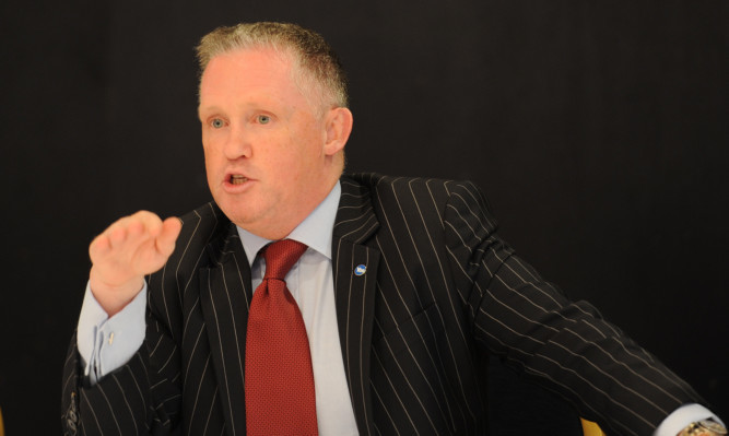 Tony Banks was found not guilty at Forfar Sheriff Court.