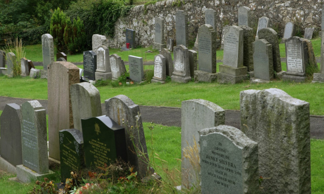 Perth and kinross Council is facing a shortage of space for future burials.