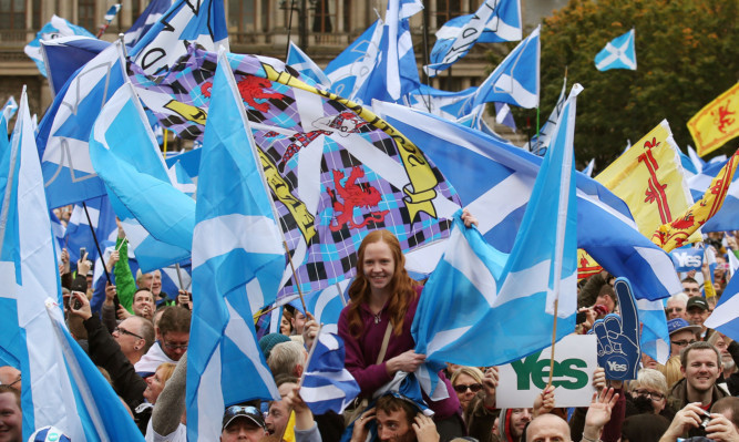 Scotland would be beginning its first day as an independent nation if it had been a Yes vote.