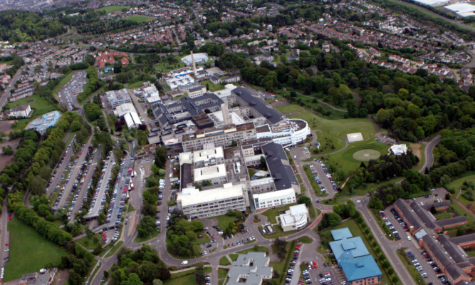 Plans for a trauma centre at Ninewells Hospital in Dundee were announced.