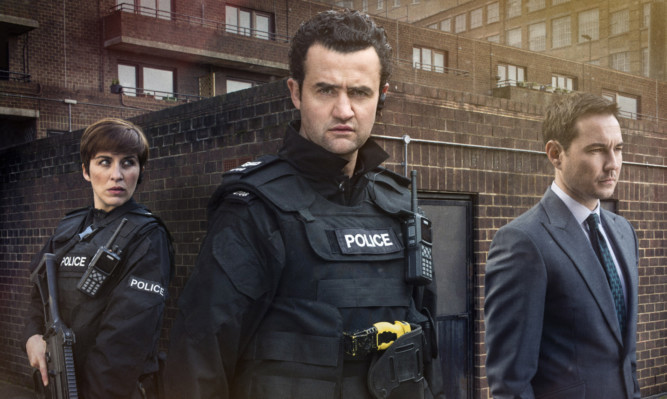 Season three of Line of Duty, above, begins on BBC Two.