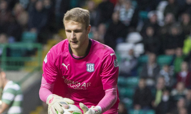 Dundee goalkeeper Scott Bain.