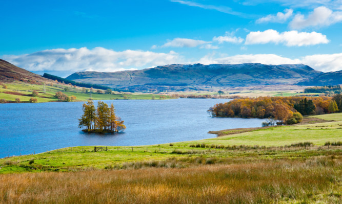Perthshire is proving to be a hit with tourists.