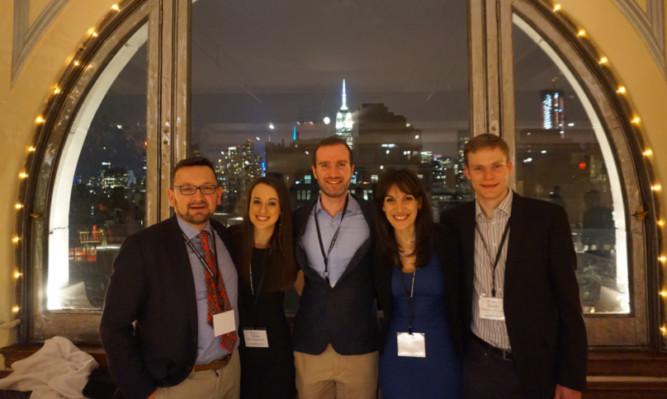 The delegates in New York.