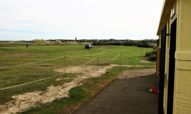 The toilet block at West Sands is to be replaced.