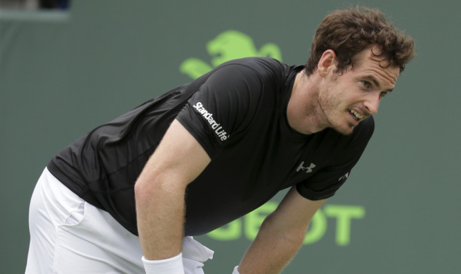 Andy Murray was far from his best, with over 50 unforced errors.