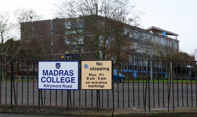 A replacement for Madras College's crumbling buildings seems as far away as ever.