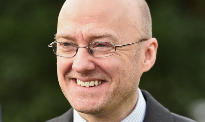 Co-convener of the Scottish Green Party Patrick Harvie.