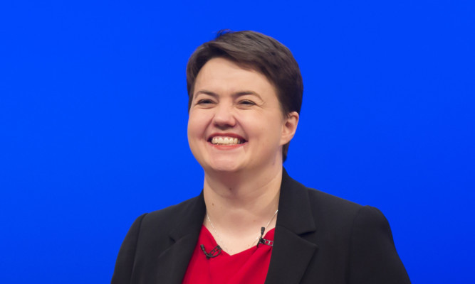 Leader of the Scottish Conservatives Ruth Davidson.