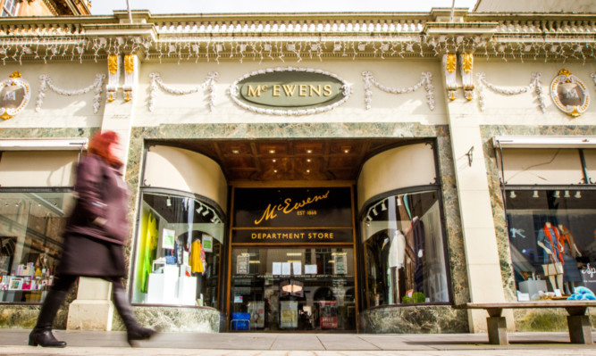 McEwens of Perth. The store's brand is up for sale.