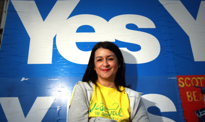Former Fife SNP councillor Marie Penman who left the party over allegations she was bullied by party members.