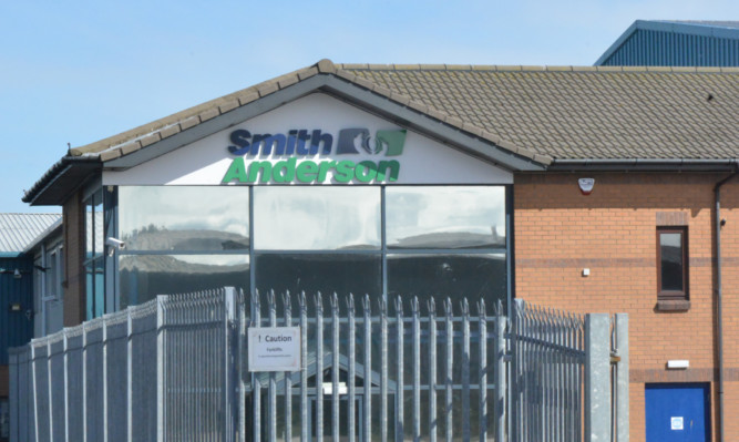 Smith Andersons new premises at Mitchelston Industrial Estate in Kirkcaldy.
