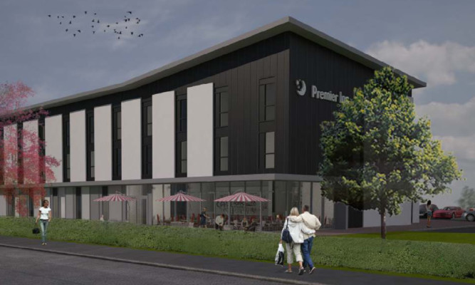 An artist's impression of the plans.