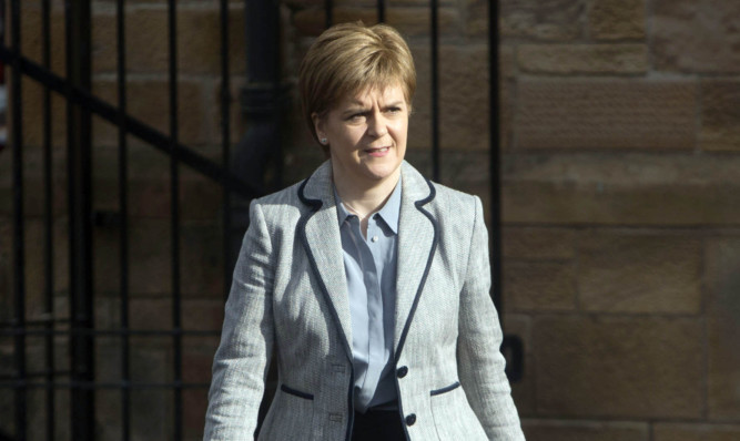 SNP leader Nicola Sturgeon.
