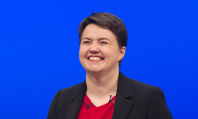 Leader of the Scottish Conservative Party Ruth Davidson.