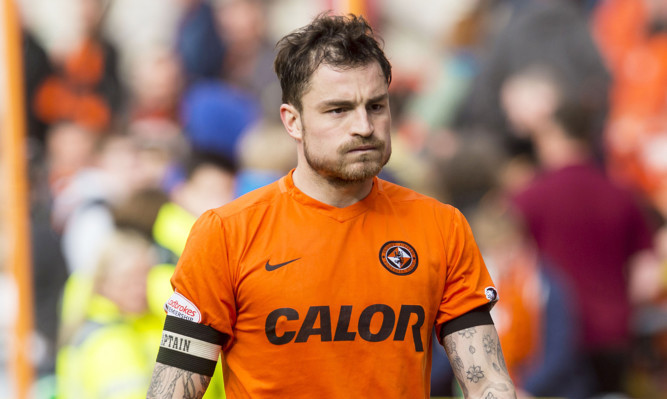 Paul Paton has claimed the captain's armband as he has led United's efforts to avoid relegation.