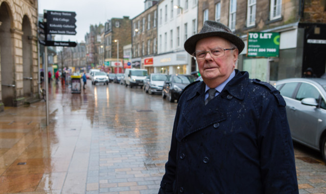 David Galloway wants action on people abusing the towns pedestrian zone.