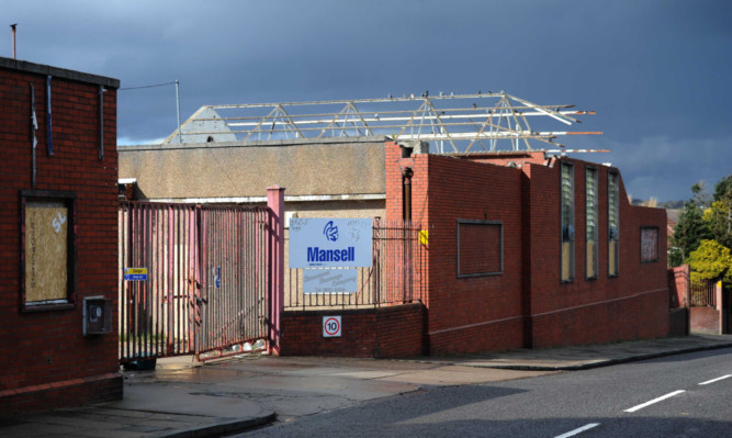The former Keiller factory which will be developed.
