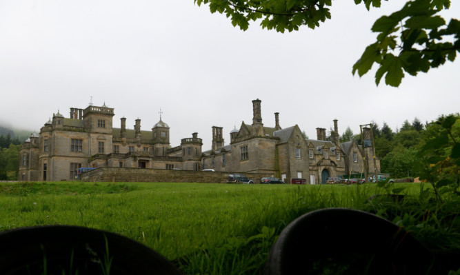 The former St Ninian's School in Falkland