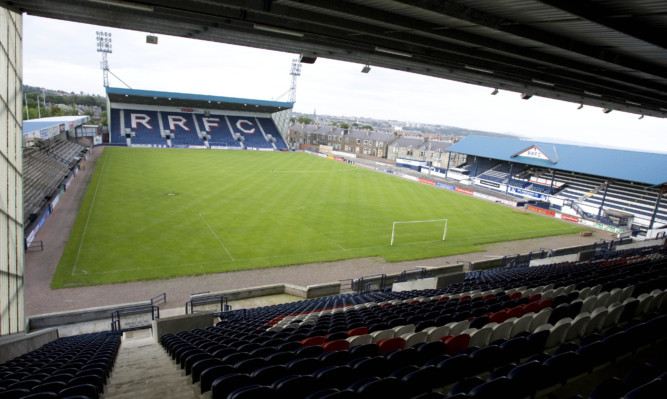 Officers were called to Starks Park in Kirkcaldy at 9am on Wednesday morning.