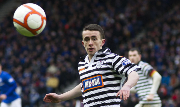 Aidan Connolly in action for Queen's Park.