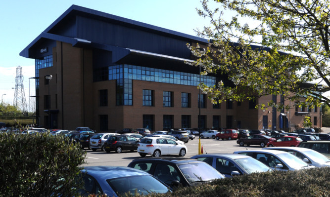 NCR development HQ in Dundee.