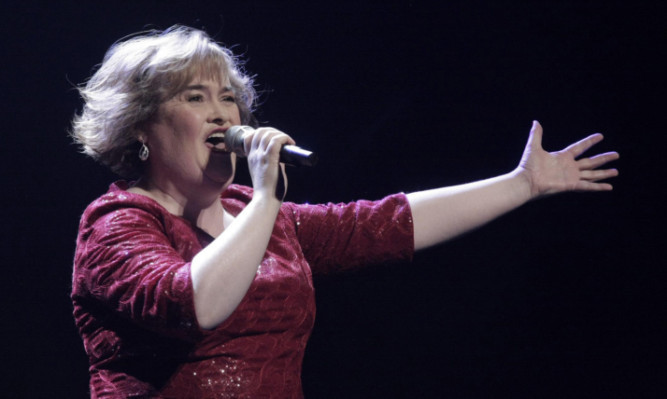 The Dundee date is part of Boyle's first full concert tour.