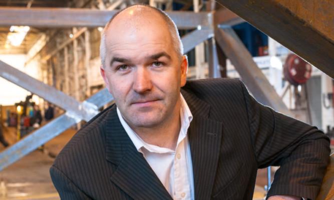 Hydrus managing director Martin Anderson.
