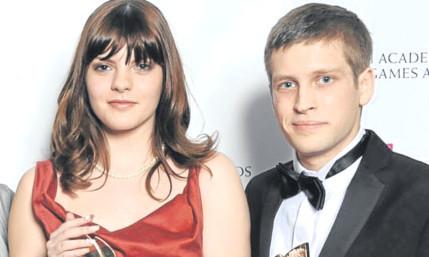 Sophia with Swallowtail co-founder Kristian Francis.