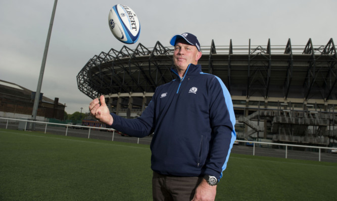 29/05/13 MURRAYFIELD - EDINBURGH Talented New Zealander Vern Cotter is officially named as the new Scotland rugby manager at Murrayfield