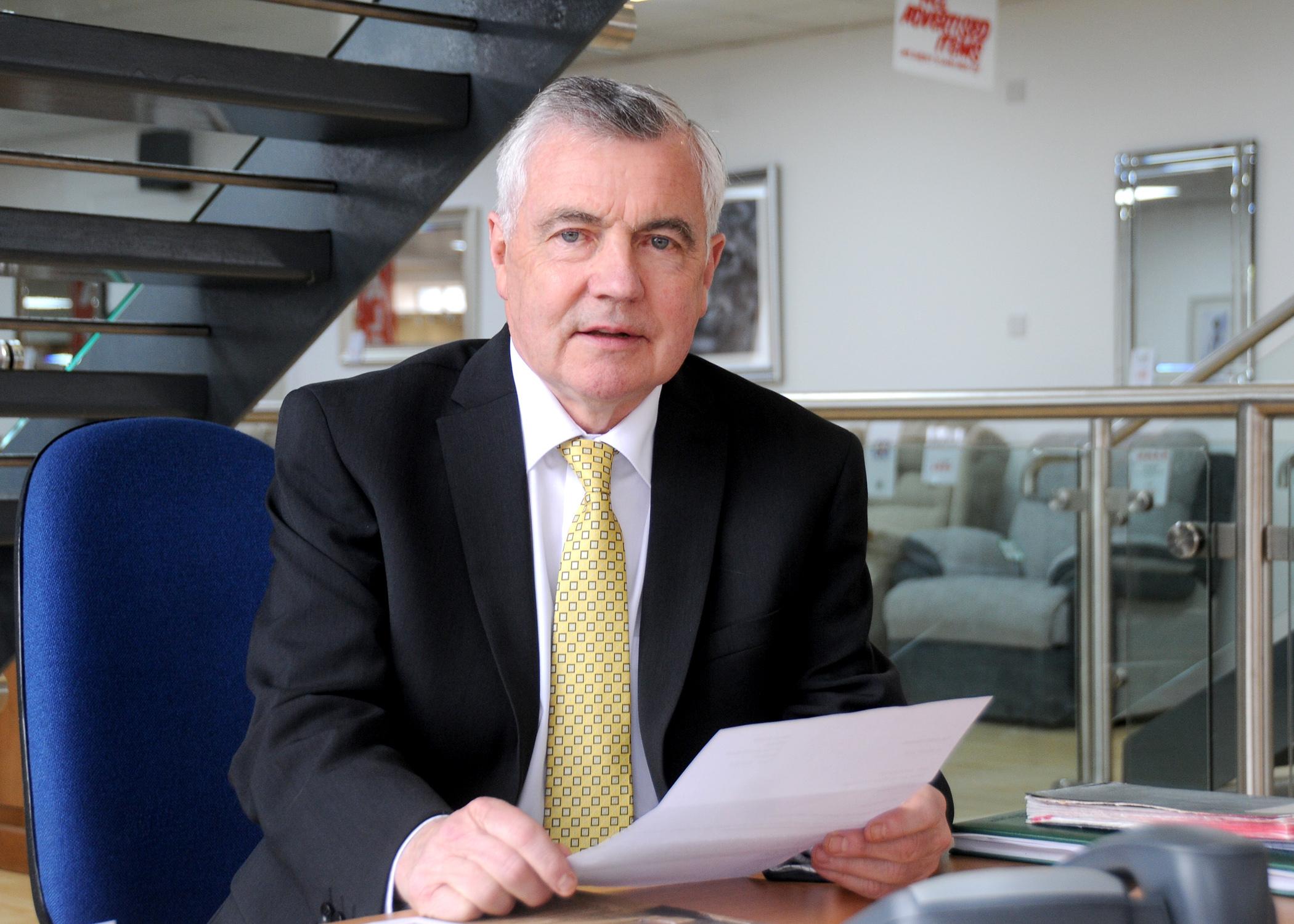 Perth businessman Jimmy Barclay