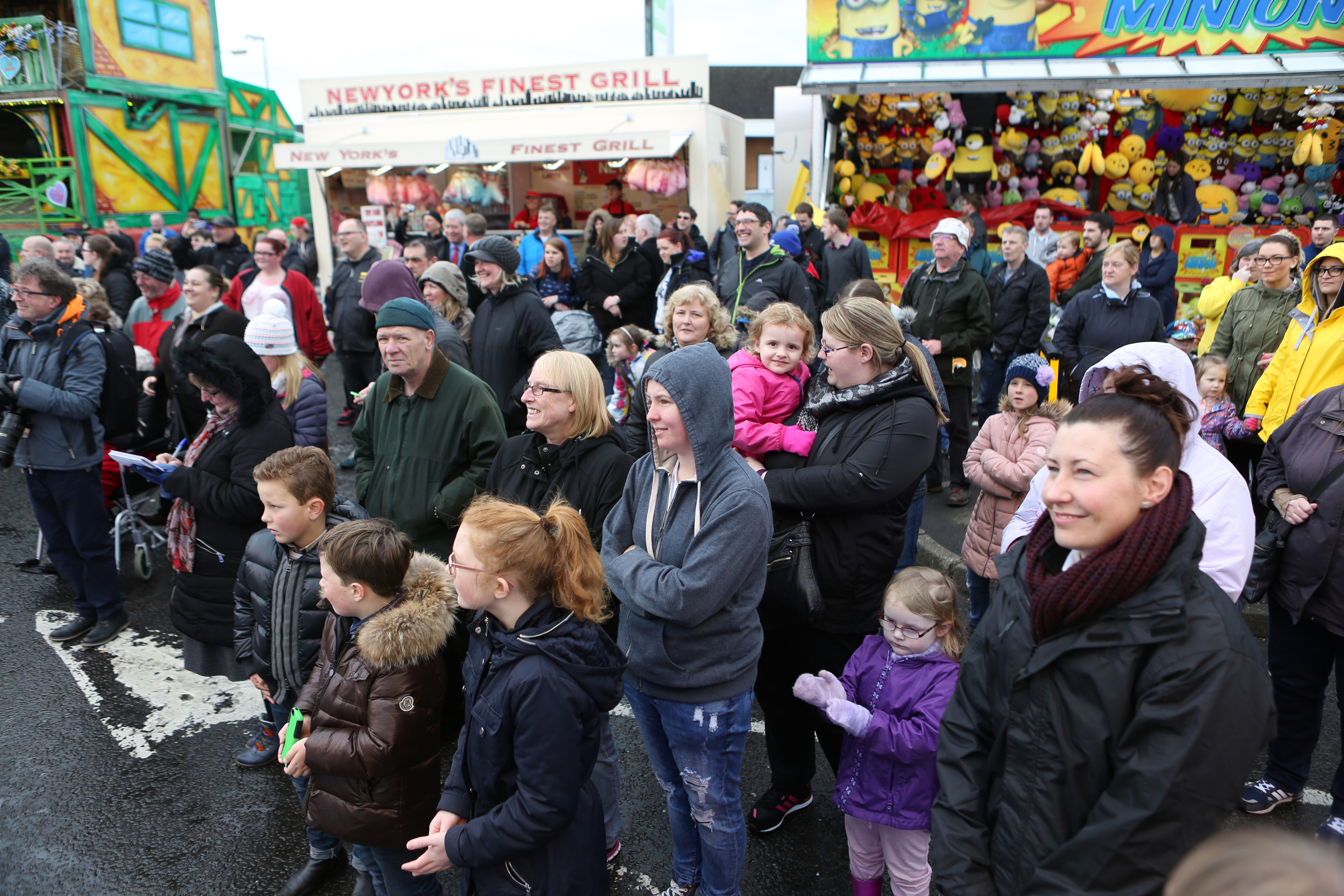 Not everyone goes to the Links Market for a fun family day out.